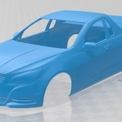 foto 1.jpg Download STL file Holden Commodore Evoke ute 2013 Printable Body Car • 3D printing model, hora80