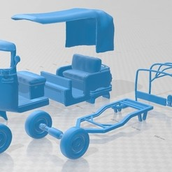 Download 3D printing designs Tuk Tuk Printable, hora80