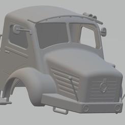 Download 3D printer files Berliet Printable Cabin Truck, hora80