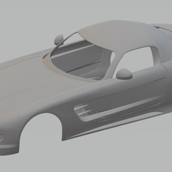 Descargar archivo 3D Mercedes Benz SLS AMG Printable Body Car, hora80