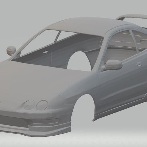 Download 3D printing templates Acura Integra Type R DC2 Printable Body Car, hora80