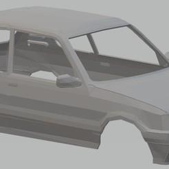 Télécharger fichier STL Peugeot 205 GTI Carrosserie imprimable, hora80