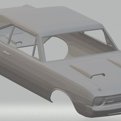 foto 1.jpg Download STL file Dodge Dart Swinger 340 Printable Body Car • 3D printer model, hora80