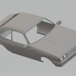 Télécharger fichier STL Ford Capri MK3 Imprimable carrosserie de voiture, hora80