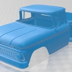 foto 1.jpg Download STL file C10 K10 1963 Printable Body Car • 3D printing template, hora80