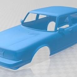 Download STL file Saab 900 1979 Printable Body Car, hora80