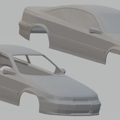 Descargar archivo 3D Opel Calibra Printable Body Car, hora80
