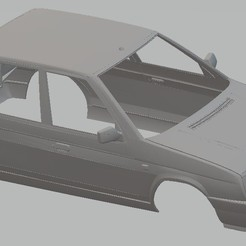 Imprimir en 3D Skoda Favorit Printable Body Car, hora80