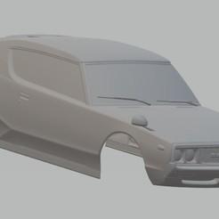 Descargar modelo 3D Datsun 240K GT Printable Body Car, hora80