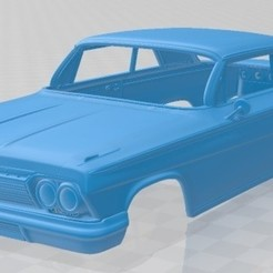 foto 1.jpg Download STL file Impala SS 1962 Printable Body Car • 3D printing object, hora80