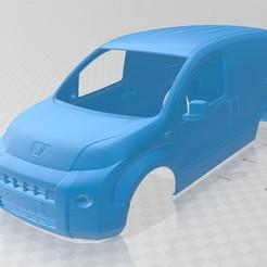 Download 3D printer designs Peugeot Bipper Printable Body Van, hora80