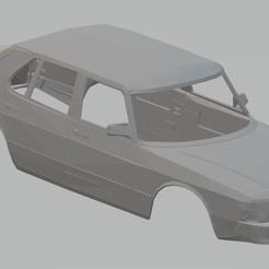 Descargar diseños 3D Saab 900 Printable Body Car, hora80