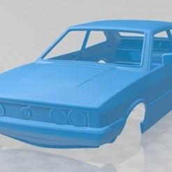 Volkswagen Scirocco 1977-1.jpg Download STL file Volkswagen Scirocco 1977 Printable Body Car • Object to 3D print, hora80