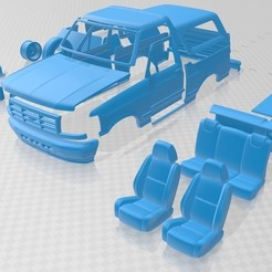 Download 3D printing designs Bronco 1992 Printable Car, hora80