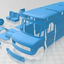 Ford A Series PanelVan 1973-1.jpg Télécharger fichier STL Série A PanelVan 1973 Imprimable • Plan à imprimer en 3D, hora80