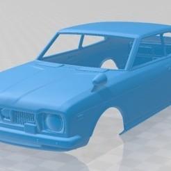 Subaru Leone GSR 1972 - 1.jpg Télécharger fichier STL Subaru Leone GSR 1972 Voiture à carrosserie imprimable • Plan pour imprimante 3D, hora80