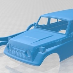 foto 1.jpg Download STL file Toyota Land Cruiser (J55) 1975 Printable Body Car • 3D print model, hora80