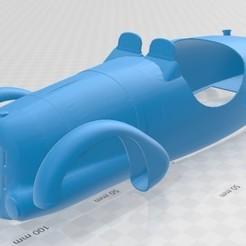 Descargar archivos STL Talbot Lago Printable Body Car, hora80