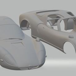 Download 3D printer files Alfa Romeo Stradale 1967 Printable Body Car, hora80