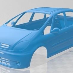 Citroen Xsara Picasso 2004-1.jpg Download STL file Citroen Xsara Picasso 2004 Printable Body Car • 3D printing template, hora80