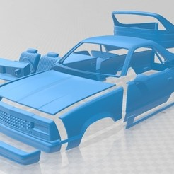 foto 1.jpg Download STL file The Road 1982 Printable Car • 3D printer design, hora80