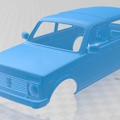 foto 1.jpg Download STL file Lada Niva 2131 2012 5 Doors Printable Body Car • 3D printing object, hora80