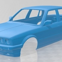 foto 1.jpg Download STL file Series 3 E30 Sedan 1990 Printable Body Car • Design to 3D print, hora80