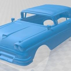 foto 1.jpg Télécharger fichier STL Fairlane 500 Sunliner 1958 Carrosserie imprimable • Modèle imprimable en 3D, hora80