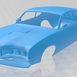 Mercury Montego Coupe 1970 - 1.jpg Download STL file Mercury Montego Coupe 1970 Printable Body Car • 3D printer design, hora80