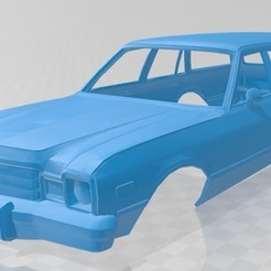 Descargar modelo 3D Dodge Aspen Wagon 1978 Printable Body Car, hora80