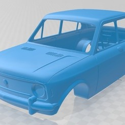 foto 1.jpg Télécharger fichier STL Carrosserie imprimable de la Fiat 128 • Plan pour imprimante 3D, hora80