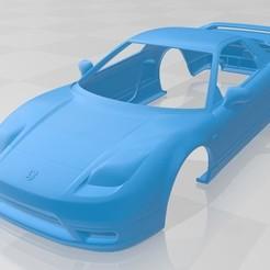 Download 3D printing models Honda NSX Printable Body Car, hora80