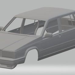 foto 1.jpg Télécharger fichier STL Carrosserie imprimable Volvo 740 • Design pour imprimante 3D, hora80