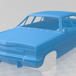 foto 1.jpg Download STL file Opel Diplomat A 1964 Printable Body Car • 3D print model, hora80