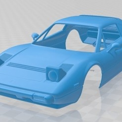 foto 1.jpg Download STL file 1986 Ferrari 308 GTS Printable Body Car • 3D printer model, hora80