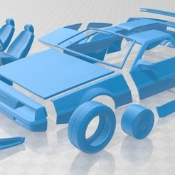 foto 1.jpg Download STL file DeLorean DMC 12 1981 Printable Car • 3D printing design, hora80