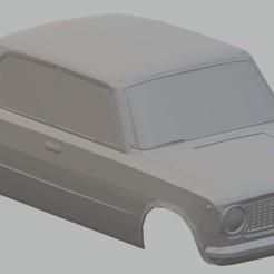 Download STL files VAZ 2101 - Seat 124 Printable Body Car, hora80