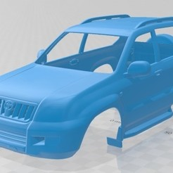 foto 1.jpg Download STL file Toyota Land Cruiser Prado 120 3 Door 2009 Printable Body Car • 3D printable design, hora80