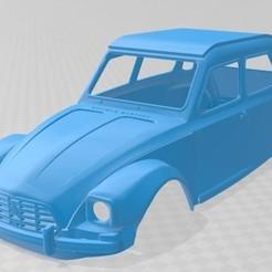 foto 1.jpg Download STL file Citroen Dyane 6 Printable Body Car • 3D print model, hora80