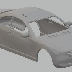 Descargar modelo 3D Mercedes CL 500 2007 Printable Body Car, hora80