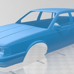 Descargar modelos 3D Cutlass Ciera 1986 Printable Body Car, hora80