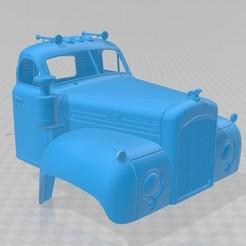 Download 3D model B series Printable Cabin Truck, hora80