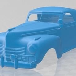 Chrysler New Yorker Highlander 1940-1.jpg Download STL file Chrysler New Yorker Highlander 1940 Printable Body Car • 3D printing design, hora80