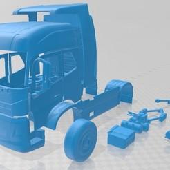 foto 1.jpg Télécharger fichier STL Volvo Electric Truck 2019 Imprimable • Plan pour impression 3D, hora80