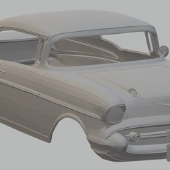 Imprimir en 3D 210 Sport Coupe 1957 Printable Body Car, hora80
