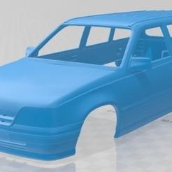 Download 3D printing models Opel Kadett Wagon 1991 Printable Body Car, hora80