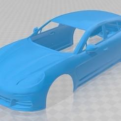 foto 1.jpg Télécharger fichier STL Porsche Panamera 4S carrosserie imprimable • Design pour impression 3D, hora80