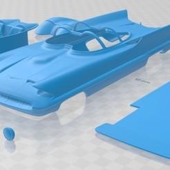 foto 1.jpg Télécharger fichier STL Lincoln Futura 1955 Voiture Imprimable • Plan imprimable en 3D, hora80