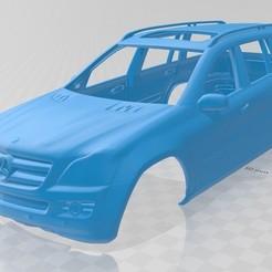 Download 3D printer templates Mercedes Benz GL Printable Body Car, hora80