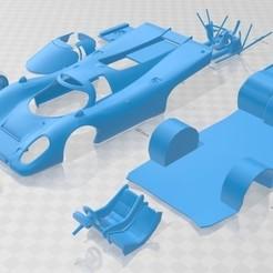 foto 1.jpg Télécharger fichier STL Porsche 917 Le Mans Carrosserie Imprimable • Plan pour imprimante 3D, hora80